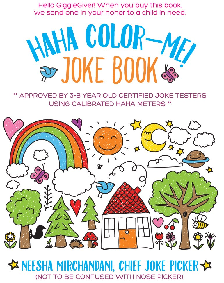 HaHa Color-Me! Joke Book