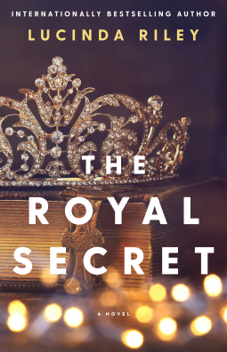 the royal secret book cover photo of a crown with bokeh lights in the foreground
