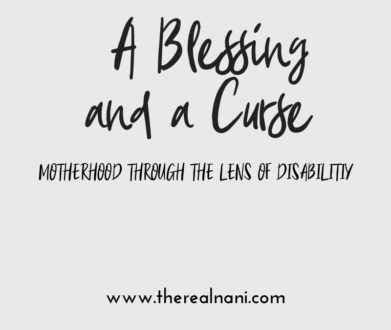 A Blessing and A Curse,  No. 4: Mothering with Limb Difference